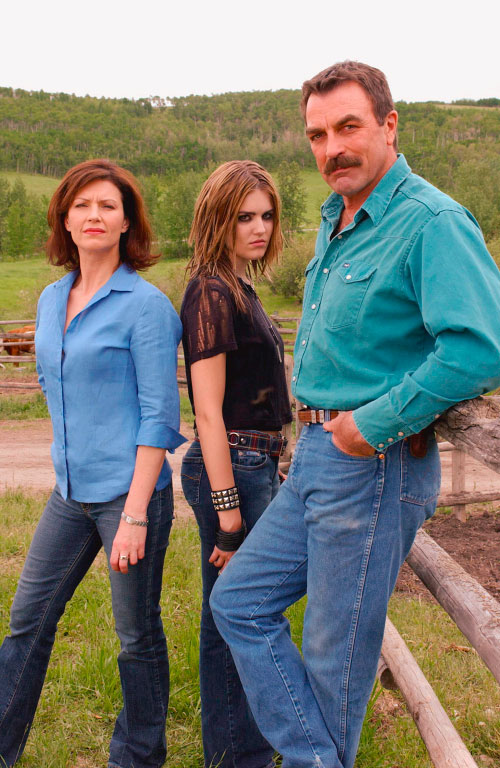 Maggie Grace tom selleck